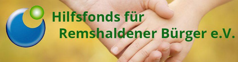 Hilfsfonds für Remshaldener Bürger e.V.